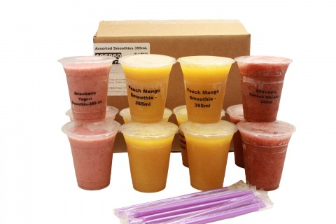 Assorted Smoothies - 355mL cup