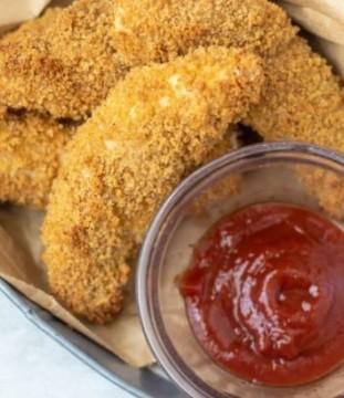 Breaded Chicken Tender Pieces - 1kg