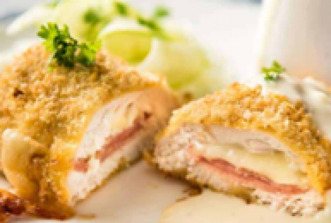 Cordon Swiss Stuffed Chicken