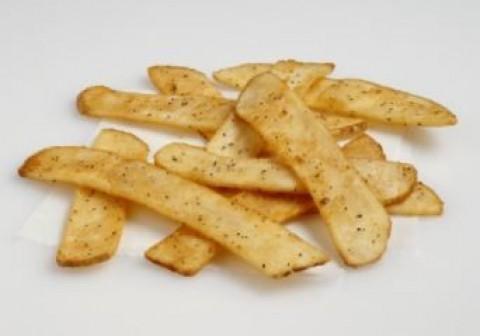 Flat Sea Salt Seasoned Fries - 700 g