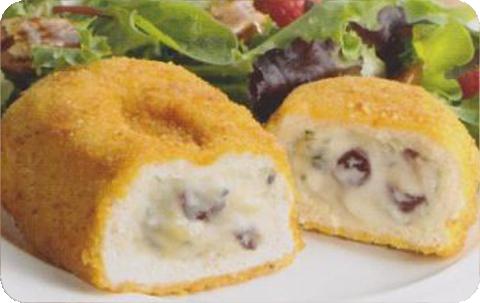 Creme Brie & Apple Stuffed Chicken
