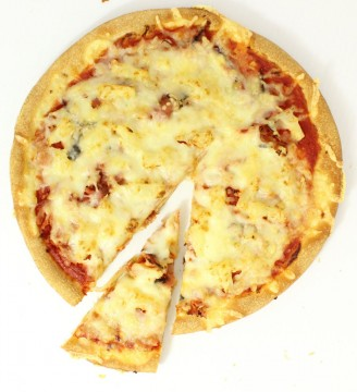 "Ham & Pine 10"" Pizza - 5 Pack"