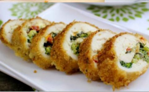 Broccoli & Cheese Stuffed Chicken