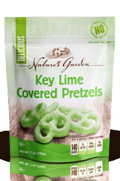 Key Lime Yogurt Covered Pretzels