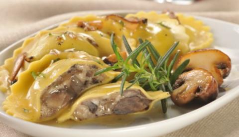 Roasted Portabella & Cremini Mushroom Ravioli - 700g