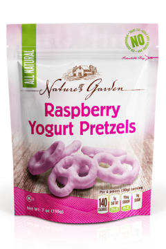 Raspberry Yogurt Pretzels