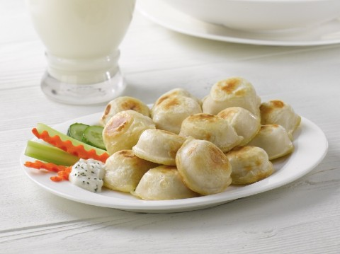 Potato & Cheddar Perogies
