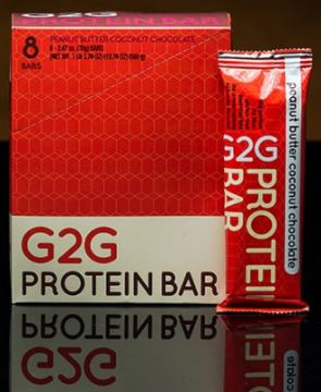G2G bars - Peanut Butter Coconut Chocolate