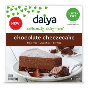 Dairy-free Daiya Chocolate Cheesecake