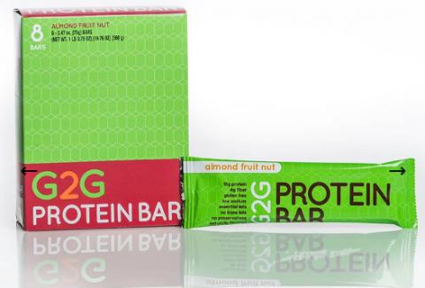 G2G bars - Almond Fruit Nut