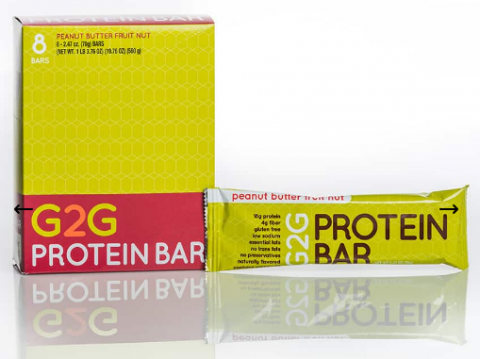 G2G bars - Peanut Butter Fruit Nut